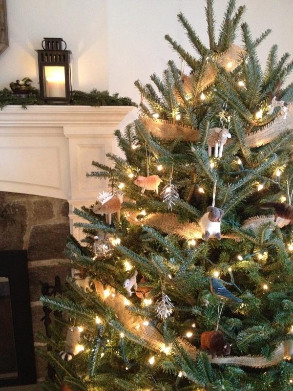 Tannenbaum Draußen Schmücken.Bastel Dekorationstipps Weihnachtsbaum At