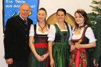 Steiermark: Inthronisation des 2. Chrisbaumdirndls